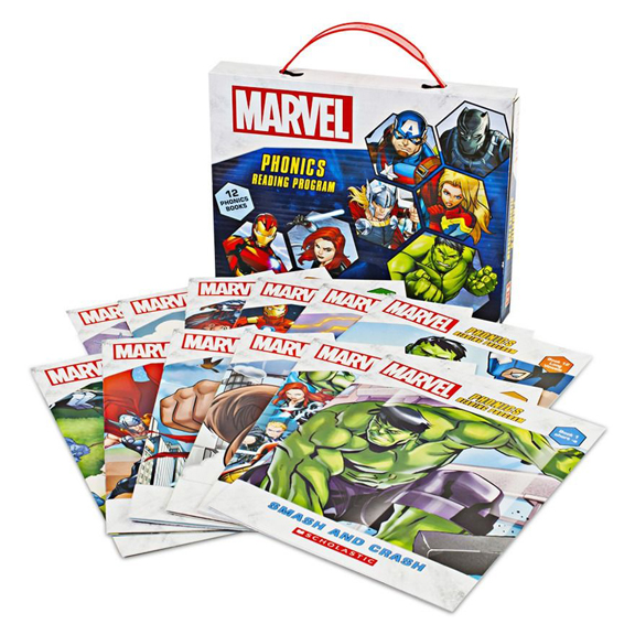 Marvel Phonics - Scholastic